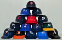 Complete Set of (15) American League Sundae Helmets (free shipping)