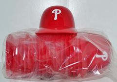 Philadelphia Phillies (20) Ice Cream Sundae Helmets (free shipping)