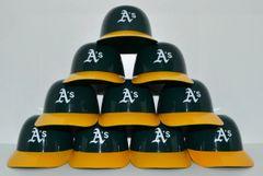 Oakland A's (10) Ice Cream Sundae Helmets (free shipping)