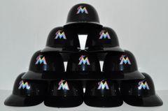 Miami Marlins (10) Ice Cream Sundae Helmets (free shipping)
