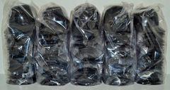 Blank Black Lot of (100) Ice Cream Sundae Helmets (free shipping)