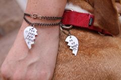 Best Friend Collar Charm & Bracelet Set