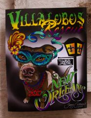 Mardi Gras 2017 Poster by Jamy Carreno