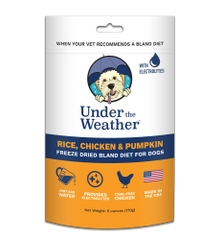 Under the Weather Bland Diet for Dogs
