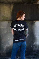 No Dog Left Behind V-Neck Shirt
