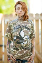 Villalobos New Orleans Camo Shirt