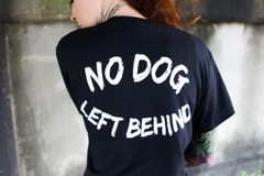 No Dog Left Behind Crewneck Shirt