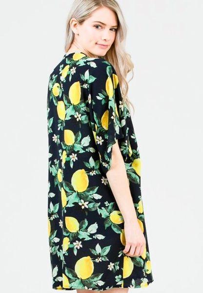 The Citrus Lulu Kimono
