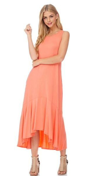 Zuna Sale- Sirena Mermaid High Low Knit Dress