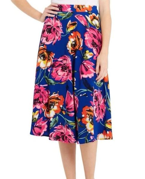The Camille Botanical Blooms Skirt