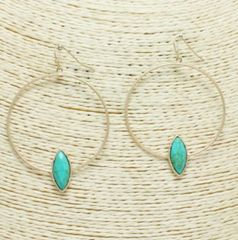 Accessory- Havana Hoop Earrings