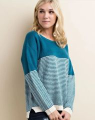 Zuna Avery Open Back Knit Sweater
