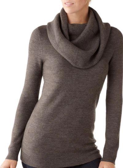 Zuna Sale- Layna Light Weight Sweater Knit Tunic-Cowl neck