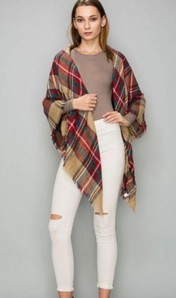 Alp Pine Blanket Scarf