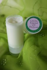 Organic Deodorant Scented with Essential Oils, 2 oz.