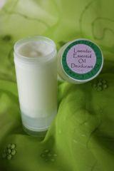 Organic Deodorant Scented with Essential Oils, 2 oz.