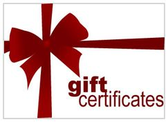 $36.00 Gift Certificate