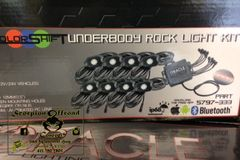 ORACLE Bluetooth ColorSHIFT Underbody Rock Light Kit - 8 Piece