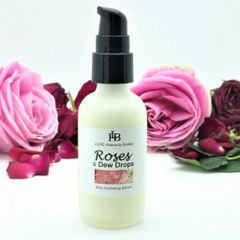 Roses & Dew Drops Silky Hydrating Serum, Light daily Moisturizer