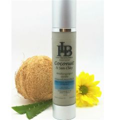 Coconut & Sea Clay Facial Wash, with over 31 Natural Minerals for soft supple skin
