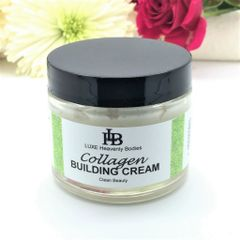 Collagen Building Cream, with Antarcticine. Reduce wrinkle depth, and Build Colagen levels