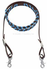 BLUE LACED REINS - REIN19H