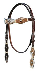 Hair on Hide Headstall
