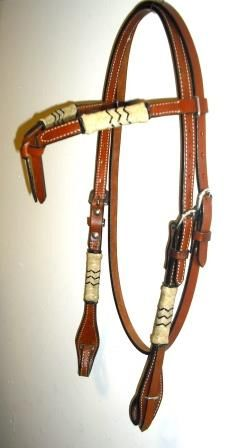 Leather & Rawhide Headstall