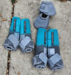 Teal to Gray Iconoclast Boots