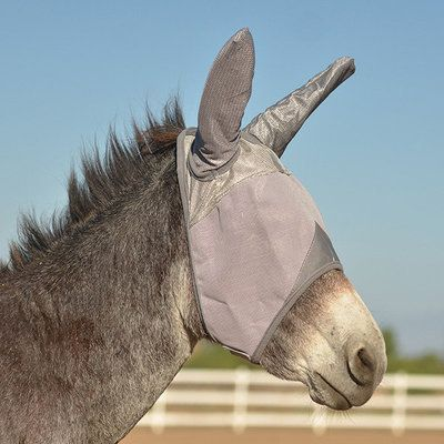 Cashel® Crusader Fly Mask Long Nose w/ Mule Ears