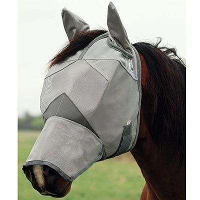 Cashel® Crusader Fly Mask Long Nose w/ Ears