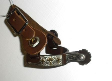 Toddler 3 Cross Spurs with Straps