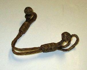 Rawhide Tie Down Holder