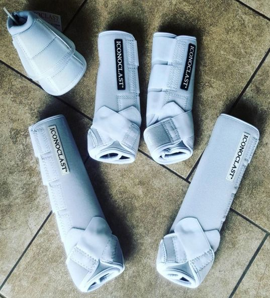 Iconoclast Orthopedic FULL SET Sport Boots w. Tall Hinds