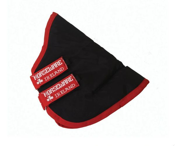 Rambo® Supreme Hood, 250g, Black w/ Red Trim