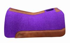 Purple Felt BARREL RACER 30x28