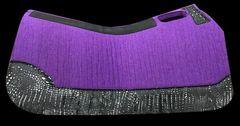 Purple Felt 30x30 Black & SIlver Croc