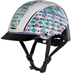 Spirit 2017 Traditional AP Horse Riding Helmet - Prints