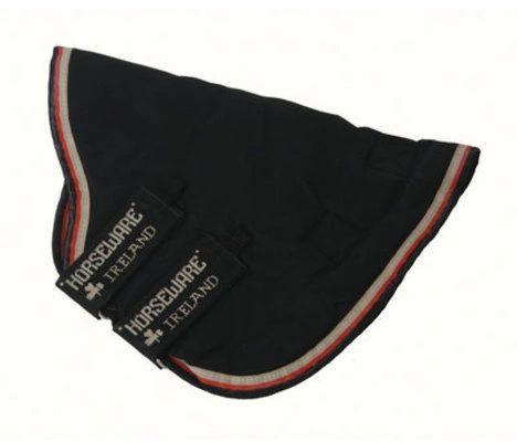 Rambo® Optimo Hood, No fill, Black w/ Black & Orange Trim