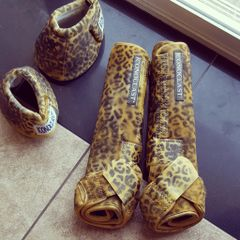 Gold Cheetah Iconoclast Boots