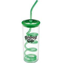 Twisty Straw Cups 10 OZ. / ITEM# CP95001