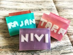Customized Soap with Name Embedded