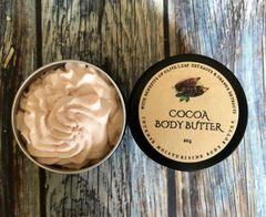 COCOA BUTTER WITH WITH OLIVE LEAF & ORANGE EXTRACTS