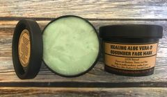Healing Aloe Vera & Cucumber Mask