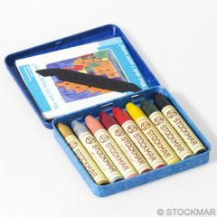 Stockmar Wax Crayons - 8 colours supplementary assortment 2 in tin