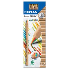 Lyra Super Ferby 4-Colour (4 colours in 1) - 1 pencil