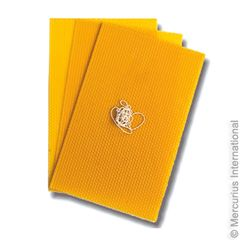 3 Honeycomb Sheets - 21x29.7 cm / 11.7x8.27 inch - with Candlewick