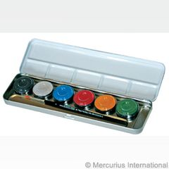 Eulenspiegel Skin Colours paints - 6 pearl colours