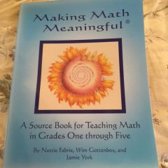 Making Math Meaningful, A source book for teaching math in grades 1-5 by Jamie York, Nettie Fabrie, Wim Gottenbos