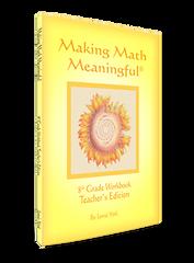 Making Math Meaningful: An 8th Grade Workbook – Teacher's Edition. by Jamie York